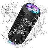 Ortizan Portable Bluetooth Speaker, IPX7 Waterproof Wireless Speaker with 24W Loud Stereo Sound, Outdoor Speakers with Blueto