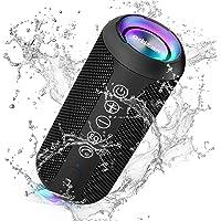 Ortizan Altavoz Bluetooth con Luz, Altavoz Inalámbrico Portatiles, Waterproof IPX7,30 Horas de Reproducción, Efecto de…