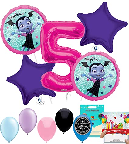Amazon.com: Vampirina Party Supplies - Globo de decoración ...