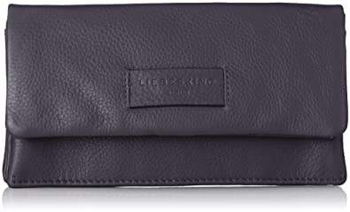 Liebeskind Berlin Damen Essential Slam Wallet Large Geldbörse, Blau (Navy  Blue), 2x10x19 5e2547db6f