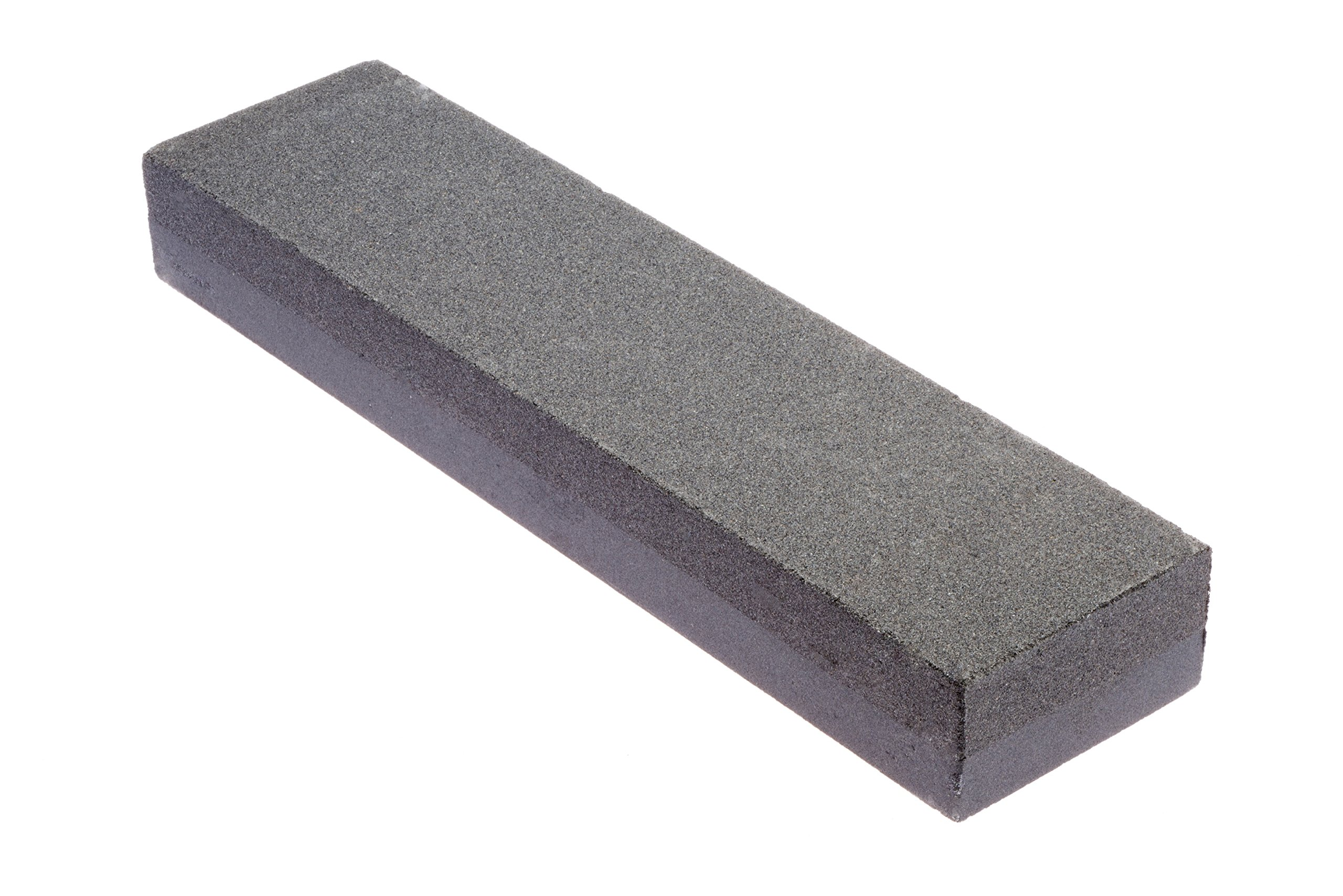 SE SS72BK 8'' Silicon Carbide Double-Sided Whetstone, Grits 120 and 240