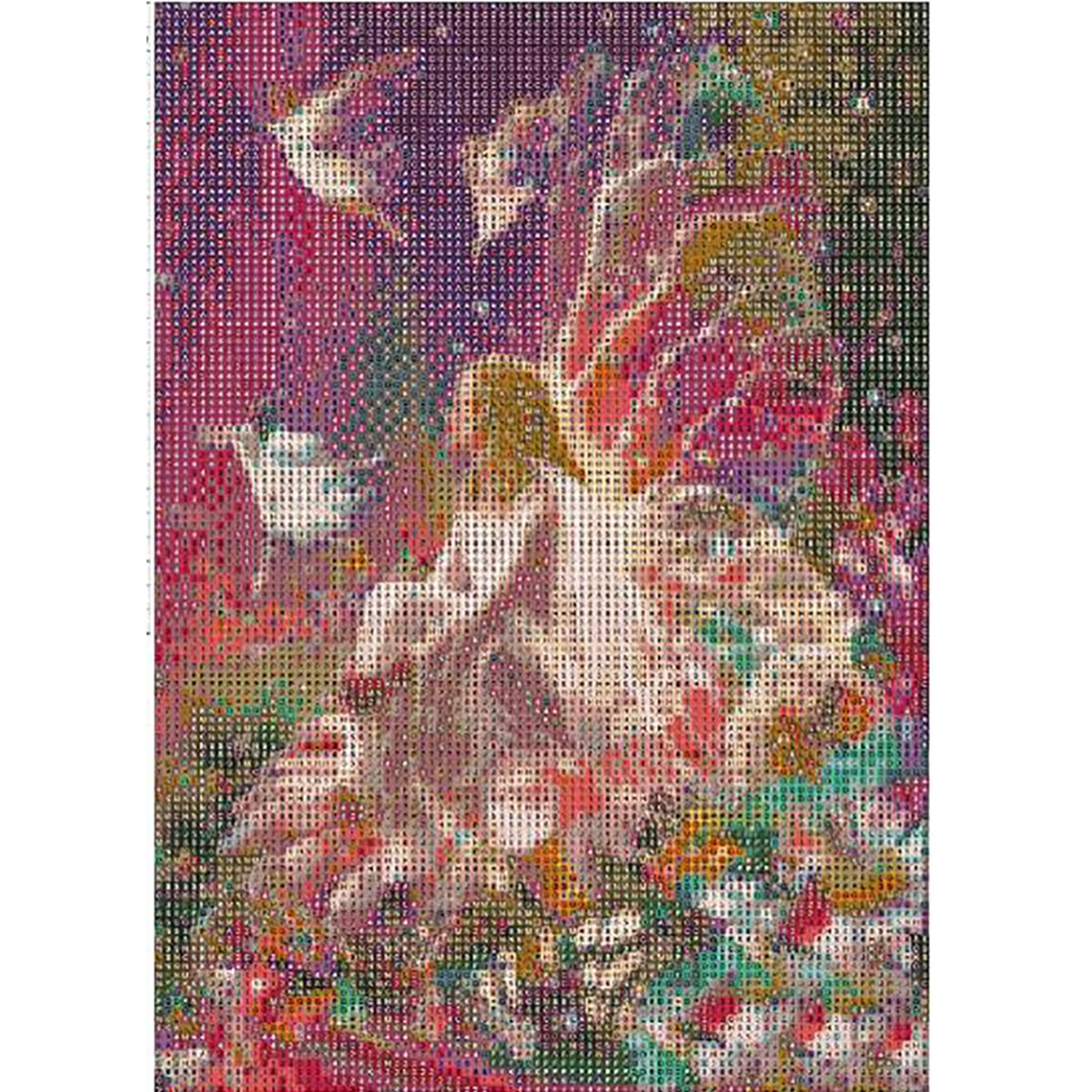 5d Diy Diamond Painting Cube Cross Stitch Mosaic Diamond Embroidery Red Forest Home Decor Painting Best Price Home & Garden