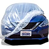 OxGord Brand Car Cover for The - Premium Fitted Plastic Car Cover