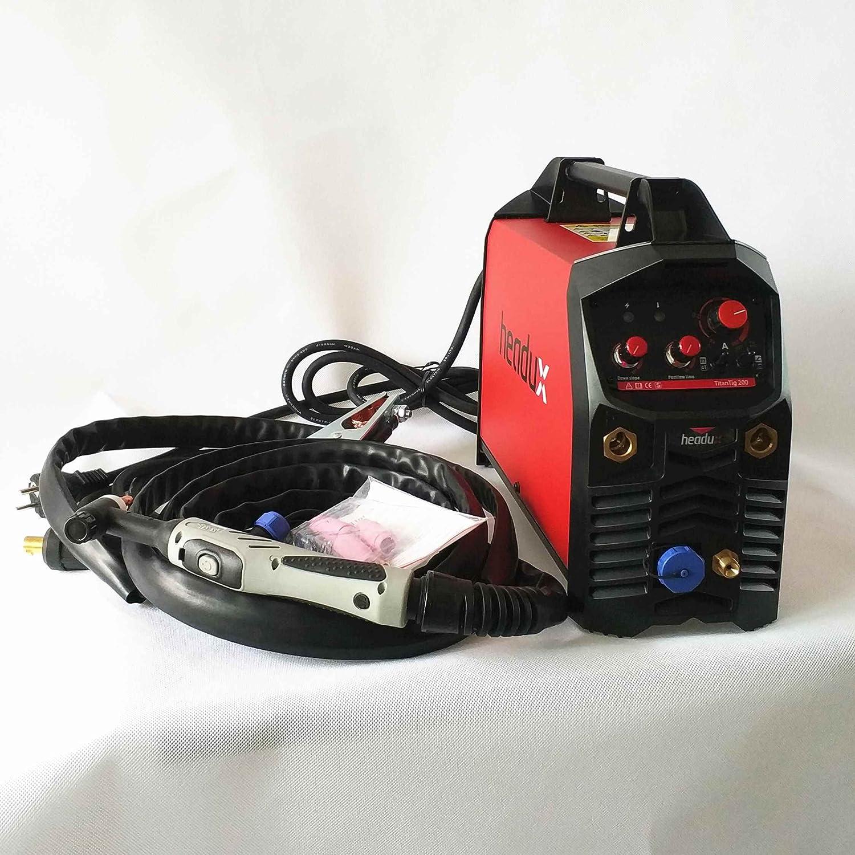 Professional 200A IGBT TIG MMA Welding Machine Hot Start HF Ignition Anti-Stick Arc-Force 2T/4T CE Certificated Inverter Welder - - Amazon.com