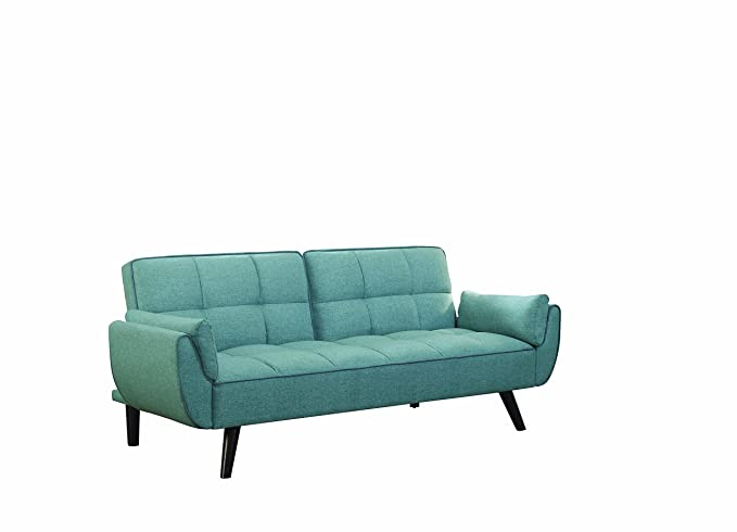 Cheyenne Upholstered Sofa Bed Blue