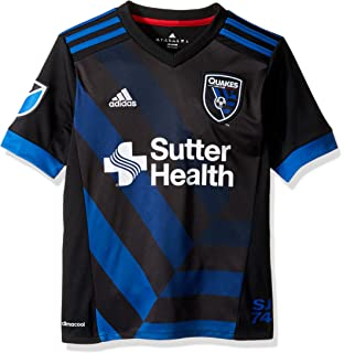 adidas MLS teen-boys Youth Replica Wordmark S/S Jersey
