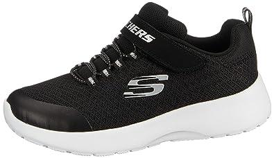 e9179a00a3c1 Skechers Dynamight Rally Race Boys Kids Trainers Black - Black - UK Size 12