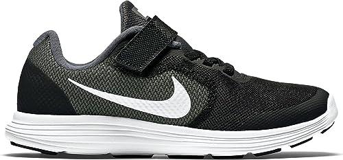 huge selection of 1c229 5e310 Nike Revolution 3 Psv, Boys  Low-Top Sneakers, Grey (Dark Grey