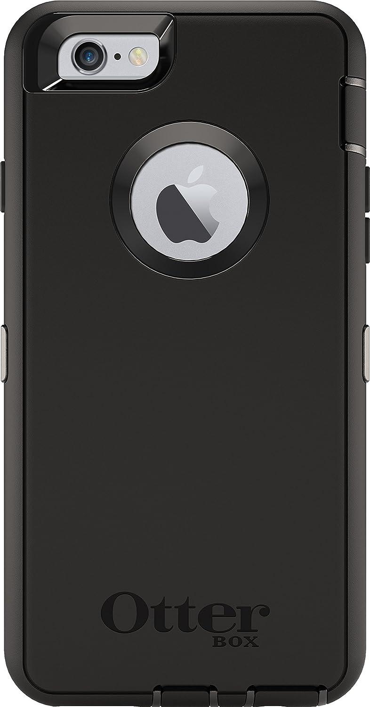 OtterBox iPhone 6 Case - Defender Series Retail Packaging - Black (Black/Black)