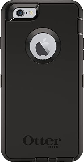 amazon com otterbox defender series case for apple iphone 6 black