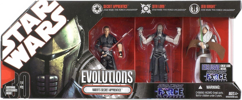 Star Wars Evolutions 3 pack - Vaders Secret Apprentice: Amazon.es: Juguetes y juegos