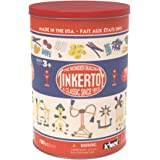 Tinkertoy Classic Retro Tub 1913 Packaging 100 Plastic Pieces