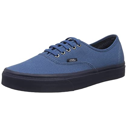 Vans Authentic Sneakers mens skateboarding-shoes VN-A38EMMOK 9 - Blue Ashes 7e54e3cf685a2