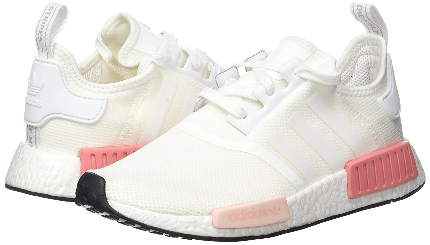 f392ca66d ... where to buy amazon adidas nmdr1 w by9952 color pink white size 8.0  shoes 56c09 1ef69
