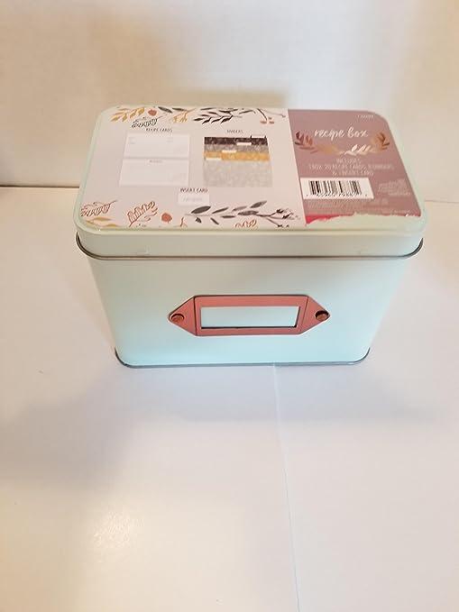 Caja de recetas: Amazon.es: Hogar