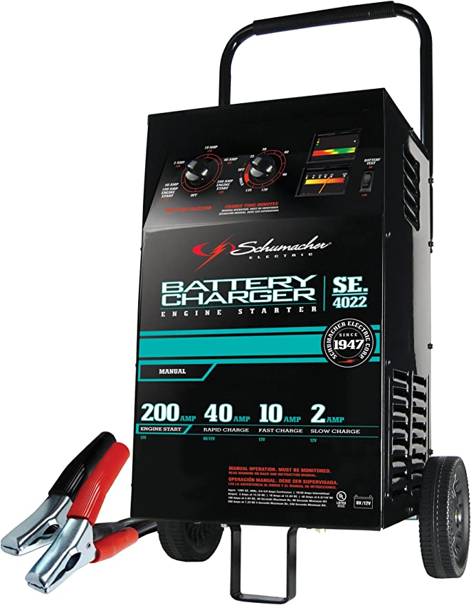 New Charge It Wheel Charger 12 Volt 40//10//2 Amp with 200 Amp Boost!