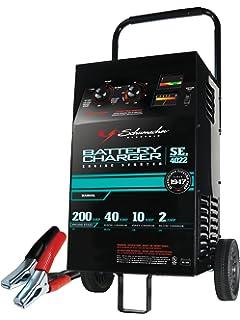 Amazon schumacher bt 100 100 amp battery load tester automotive schumacher se 4022 21040200 amp manual wheeled battery charger keyboard keysfo Images