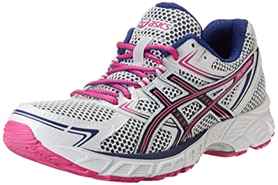 ASICS Women's Gel-Equation 7 Running Shoe,White/Black/Hot Pink,