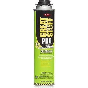 Amazon com : Dow Great Stuff Pro Pestblock Foam Sealant Kit