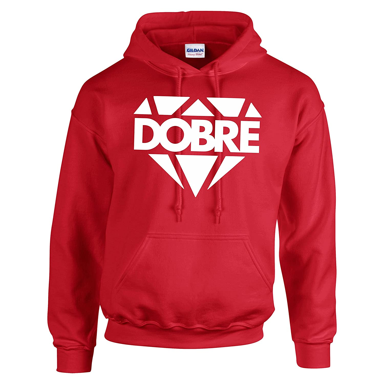 Dobre Brothers Large Diamond Printed Hoodie