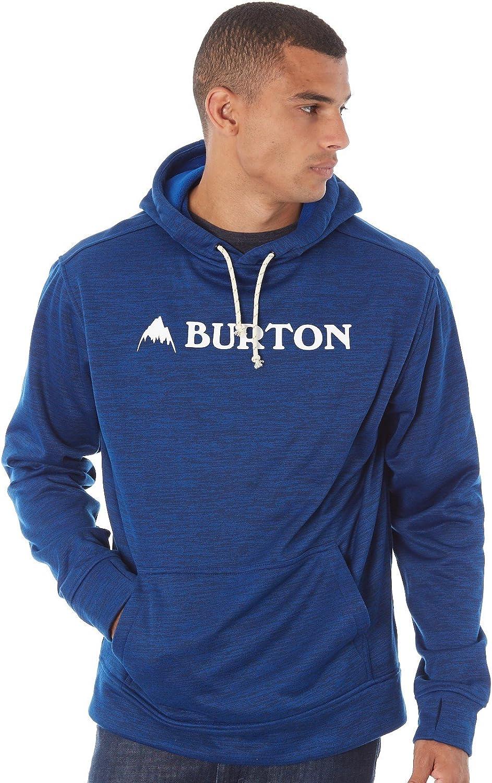 Burton Herren Hoodie Oak Po True Blue Heather