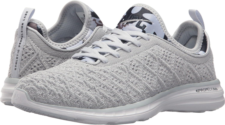 APL: Athletic Propulsion Labs Women's Techloom Phantom Running Shoe B071G7KMZC 5 B(M) US|Steel Grey/Midnight/Light Sky