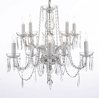 Crystal icicle waterfall chandelier lighting dining room chandeliers crystal icicle waterfall chandelier lighting dining room chandeliers h25quot x w24quot aloadofball Gallery