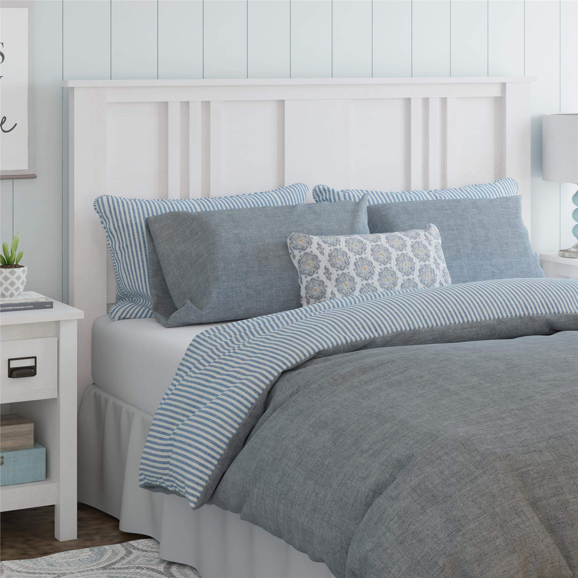 Ameriwood Home Adams Queen Headboard, Ivory Oak by Ameriwood Home
