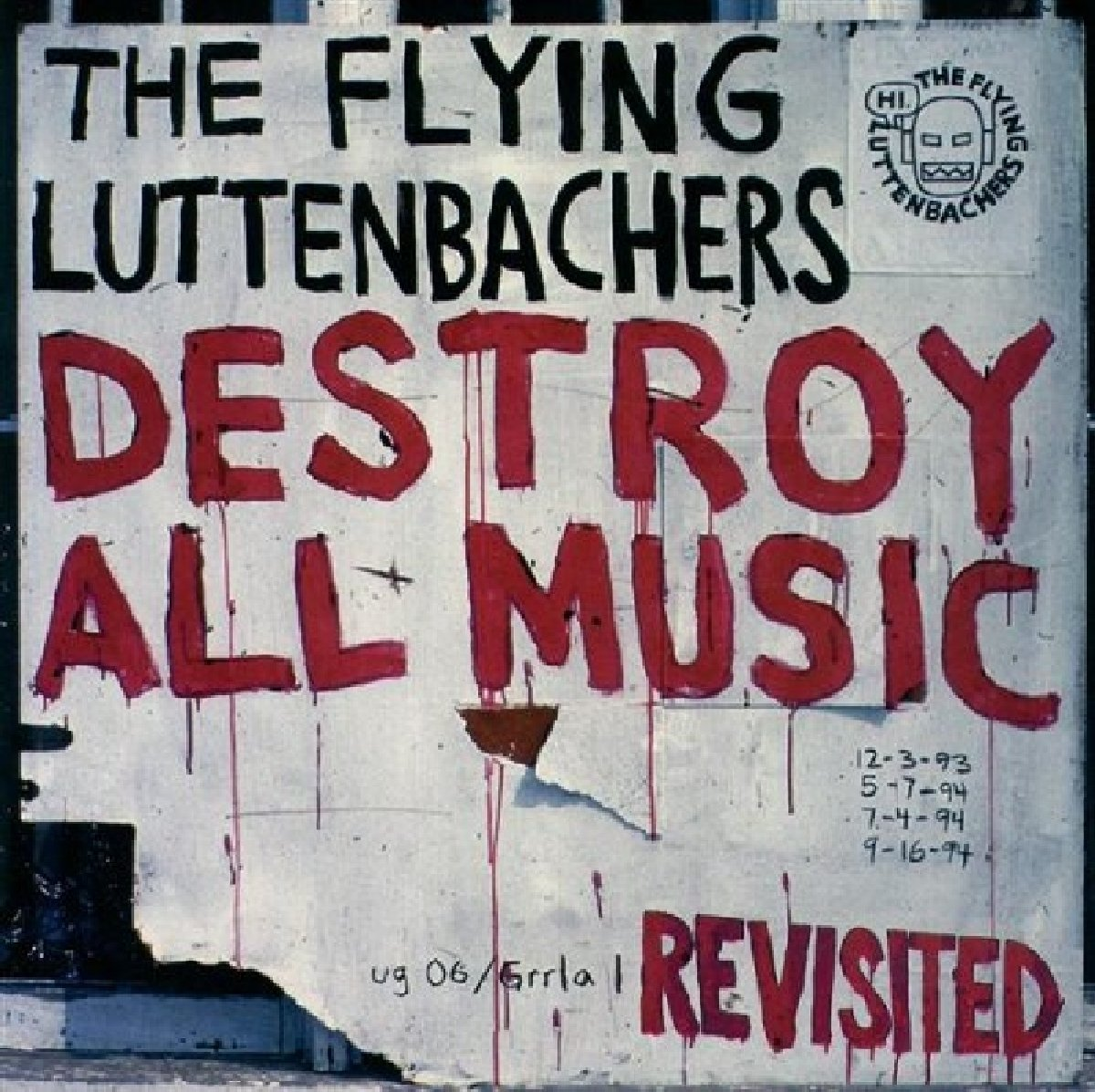 CD : The Flying Luttenbachers - Destroy All Music Revisited (Jewel Case Packaging)