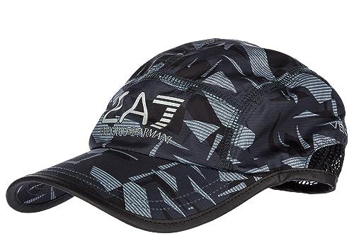 044da49779 Emporio Armani EA7 cappello berretto regolabile uomo in cotone ...