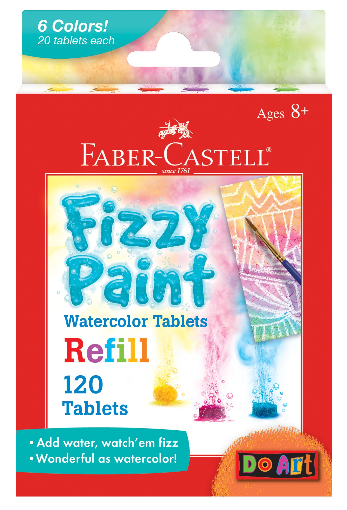 Faber Castell Fizzy Paint Refill Pack