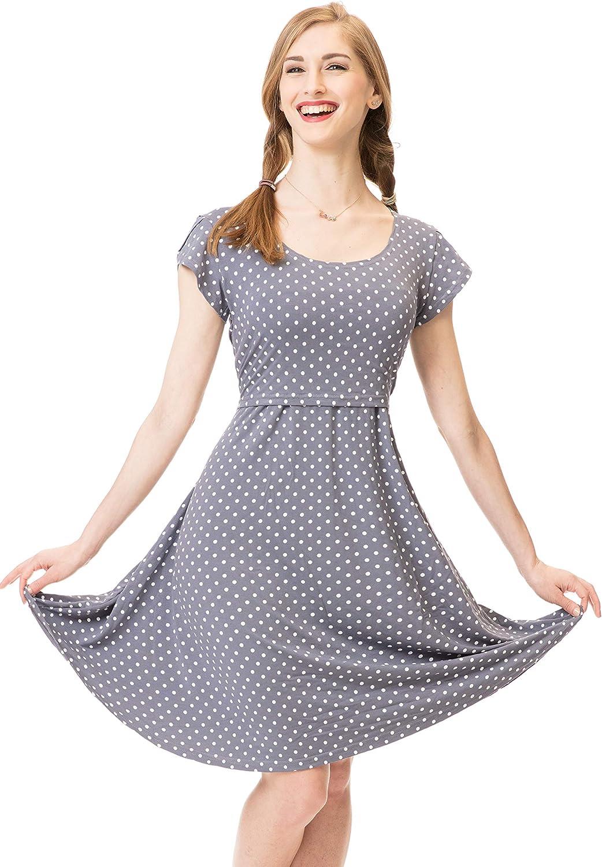 GoFuture Damen Umstandskleid Stillkleid 3in1 ALLIZEE GF2430