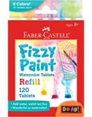 Faber Castell Fizzy Paint Water Color, Multicolor