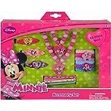 """Disney Minnie """"Bowtique"""" 15 Piece Accessory Box Set with Jewelry"""