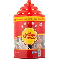 珍宝珠混合味硬糖棒棒糖108支瓶装促销装 1.134KG