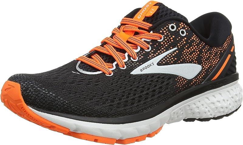 Brooks Ghost 11 Sneakers Laufschuhe Herren Schwarz/Orange