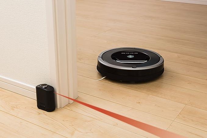 iRobot Rumba 870 Bolsa para el polvo Negro, Platino aspiradora robotizada - Aspiradoras robotizadas (Bolsa para el polvo, Negro, Platino, Alrededor, 60 min, ...