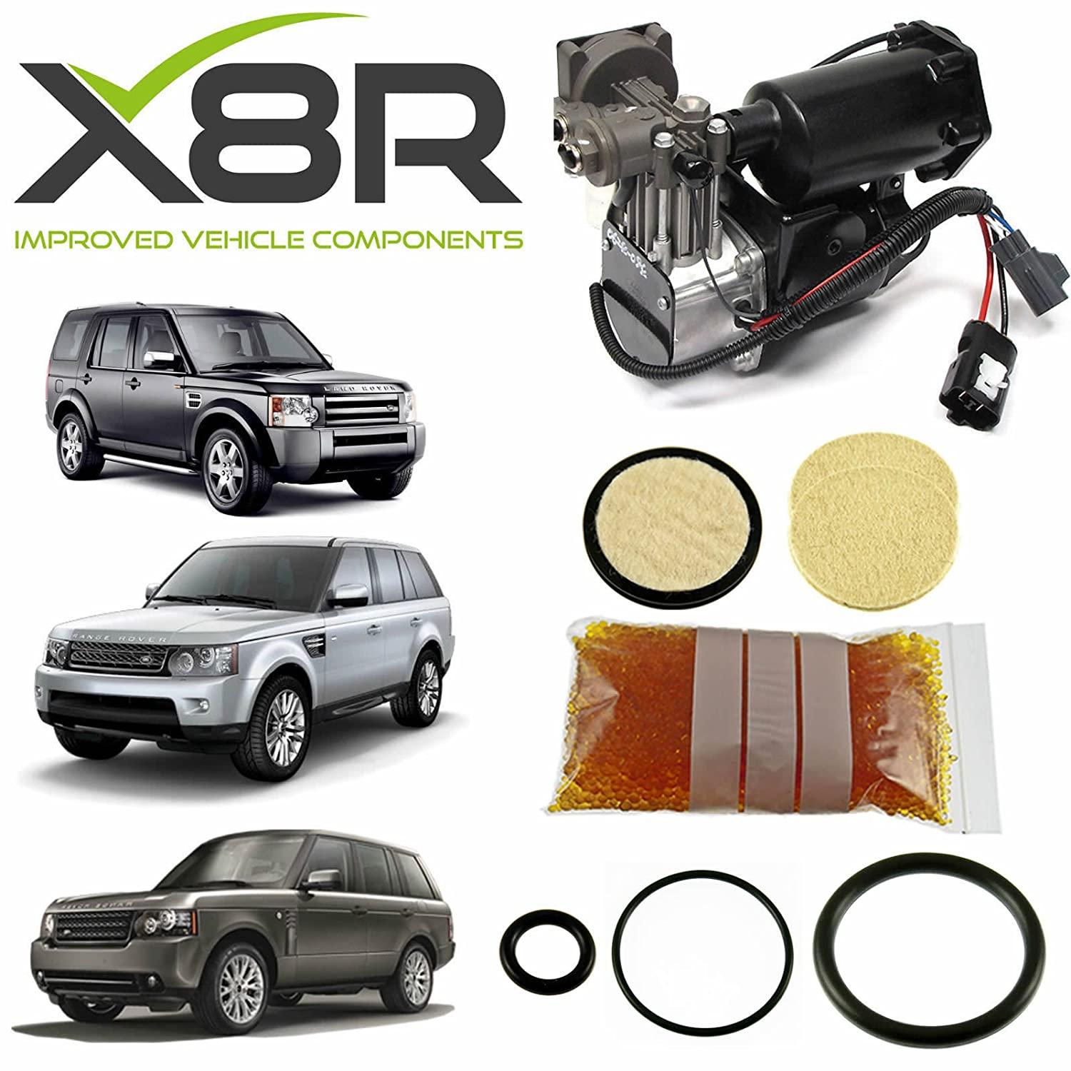Amazon LAND ROVER LR3 DISCOVERY 3 AIR COMPRESSOR DRIER – Land Rover Air Compressor Wiring Diagram