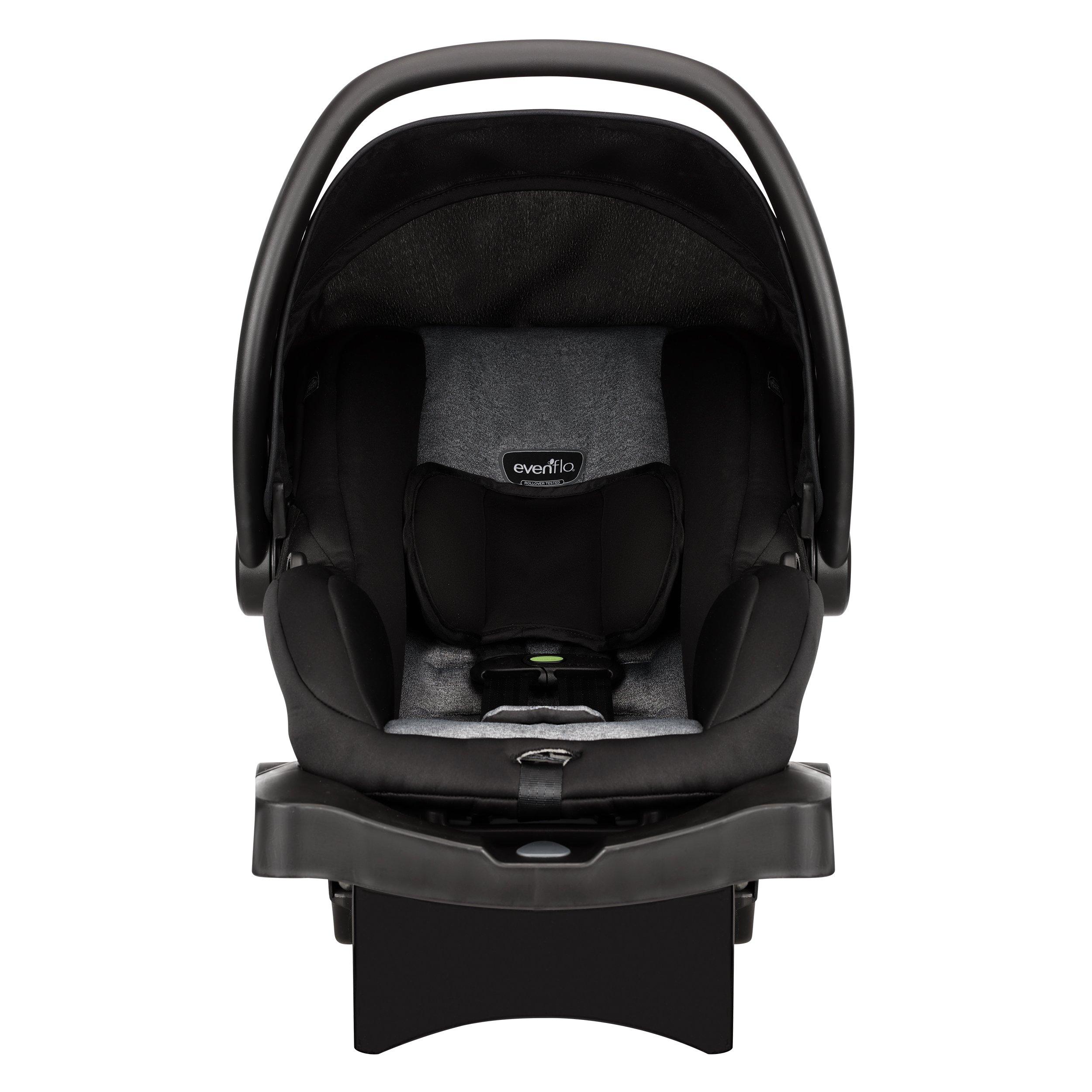 Evenflo Advanced SensorSafe Epic Travel System with LiteMax Infant Car Seat, Jet by Evenflo (Image #2)