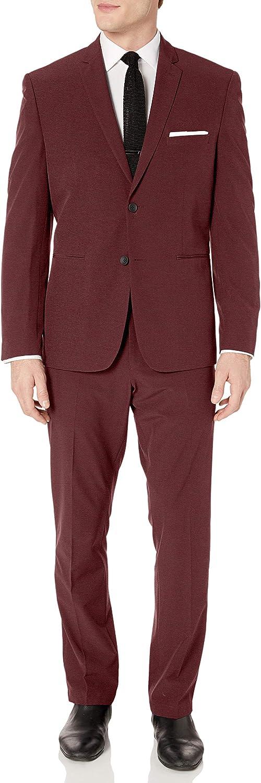 Perry Ellis Men's Slim Fit Machine Washable Tech Suit