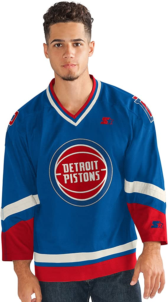 details for on feet images of latest fashion Starter NBA Mens Legend Hockey Jersey