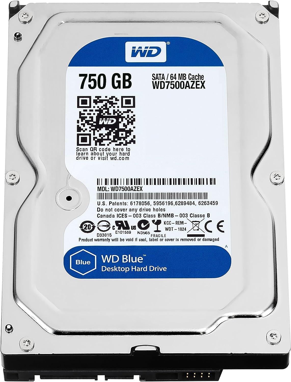 Western Digital WD7500AZEX - Disco duro de sobremesa, SATA III ...