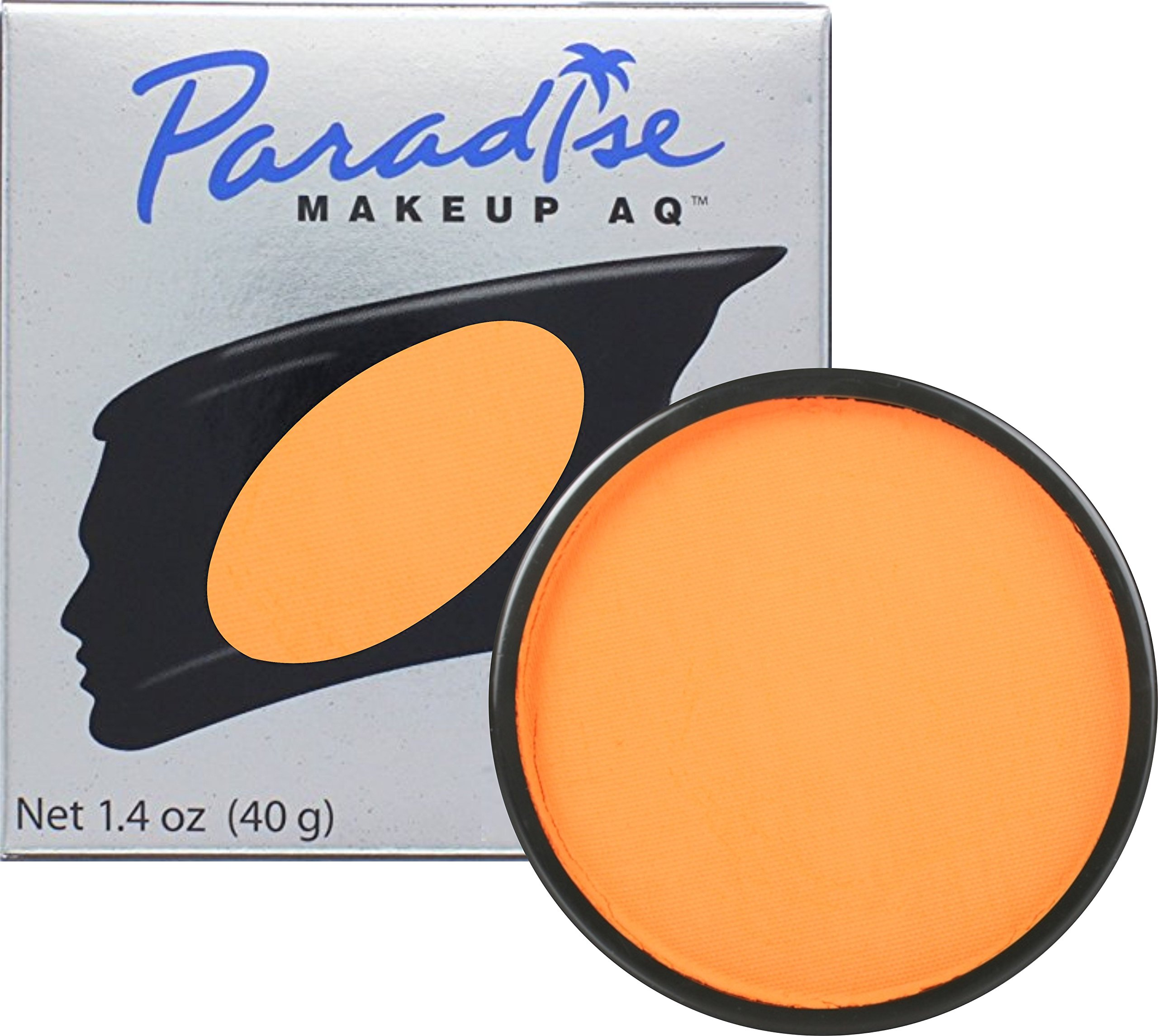 Mehron Paradise Face Paints - Orange (1.4 oz)