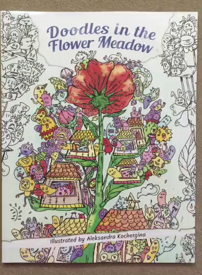 Amazon Customer Reviews Doodles In The Flower Meadow
