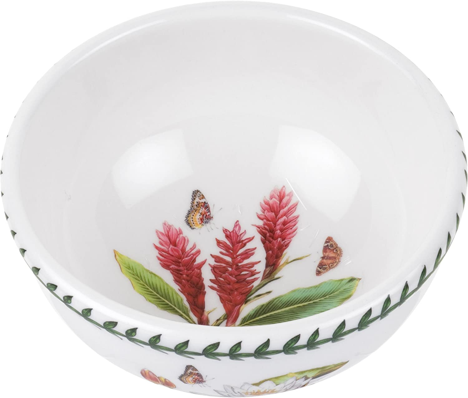 Portmeirion Exotic Botanic Garden Individual Fruit Salad Bowl, Set with 6 Assorted Motifs