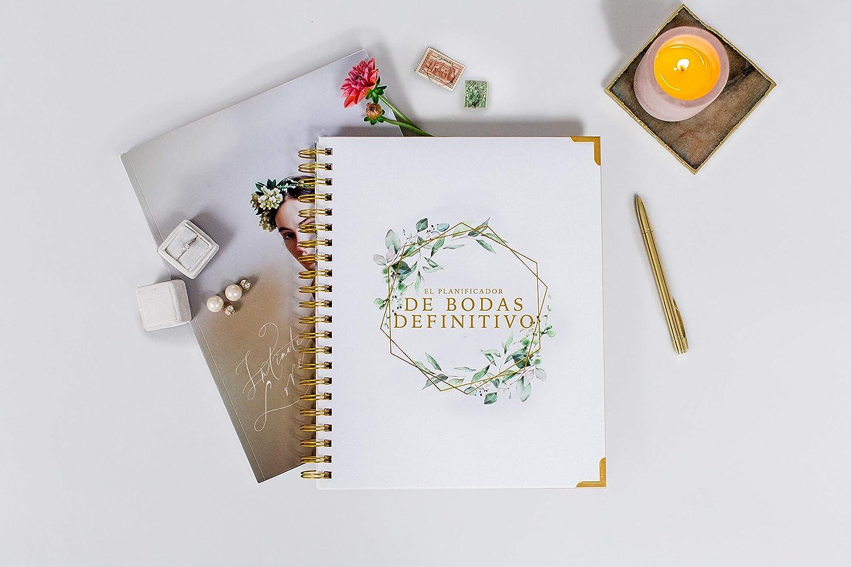 Calendario Edici/ón en espa/ñol Planificador de bodas y libro organizador Diario