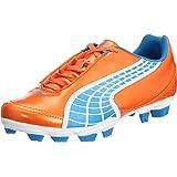 Puma V5.10 II i FG Children cams orange soccer shoes