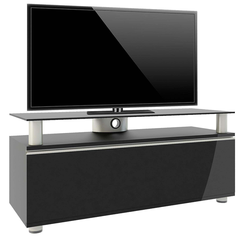 Tv schrank schwarz  VCM 14245 TV-Lowboard lack