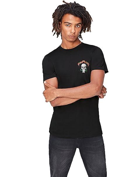 FIND Camiseta Estampado Guns N Roses para Hombre: Amazon.es: Ropa y accesorios