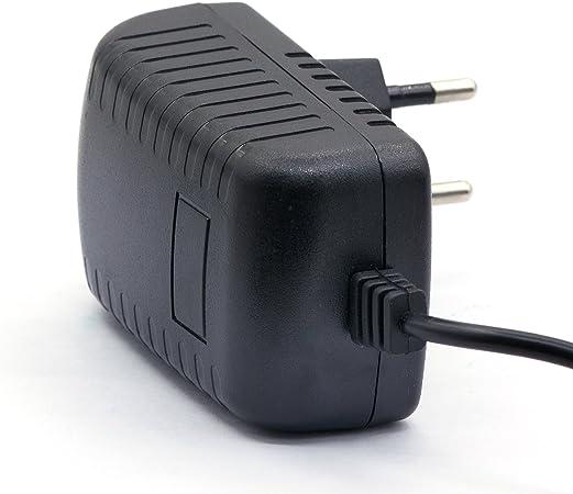 LEICKE Cargador Universal ULL 24V 1A 24Watt   Clavija de 5,5 * 2 ...